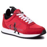 Sneakersy CALVIN KLEIN JEANS - Josslyn B4R0825 Racing Red, w 7 rozmiarach