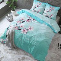 Pościel pure cotton 220x200+2 poszewki 60x70 blossom mint - rom1160 marki Room99