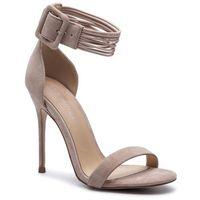 Sandały EVA MINGE - EM-35-05-000340 203, kolor beżowy