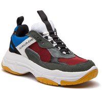 Sneakersy CALVIN KLEIN JEANS - Maya R0803 Rosso/Blue/Grey/Whit, kolor wielokolorowy