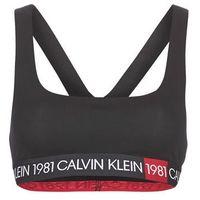 Biustonosze jeans unlined bralette marki Calvin klein