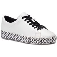 Sneakersy - keaton lace up 43t9ktfs1l optic white, Michael michael kors, 35-43