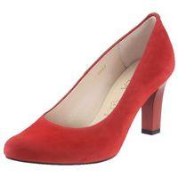 Czółenka Sala 5051 - Czerwone 28, kolor czerwony