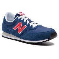 Sneakersy NEW BALANCE - U420MTR Granatowy, kolor niebieski