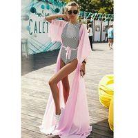 Tunika plażowa CATALINA PINK, kolor różowy
