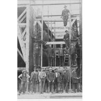 Plakat Robotnicy budujący Port w Gdyni, 3739