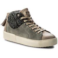 Sneakersy NAPAPIJRI - Minnie 15741190 Taupe N47, kolor szary