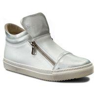 Sneakersy BALDACCINI - 803500-515 Srebro Janko/Biały, w 2 rozmiarach