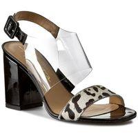 Sandały KONDOR - BY TABITA 2433521 Leopard/White, w 3 rozmiarach