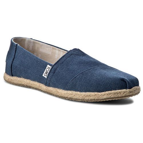Espadryle TOMS - Classic 10009758 Navy Washed
