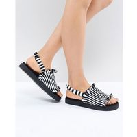 Monki stripe sandal - multi