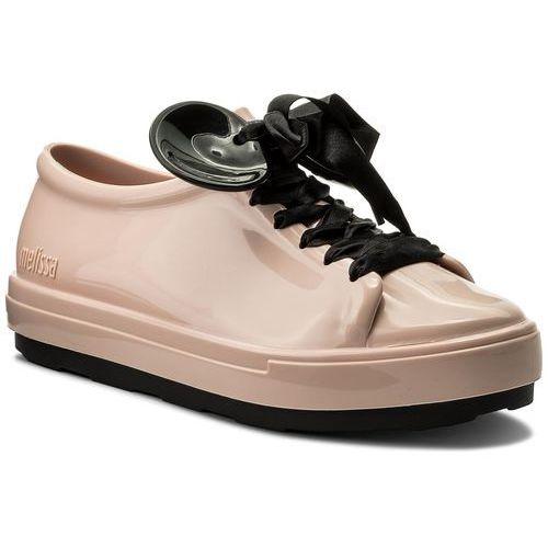Półbuty - be + disney ad 32259 pink/black 51647, Melissa