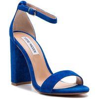 Sandały - carrson sm11000008-03002-425 royal blue suede marki Steve madden