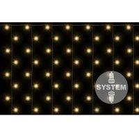 Diled firanka świecąca - 200 LED ciepły biały, kolor Diled