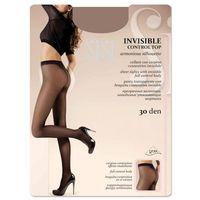 Sisi invisible 30 control top • rozmiar: 3/m • kolor: miele