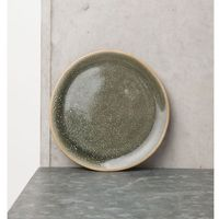unc talerz kamienny, ciemnozielony, śr.14cm 103368 marki Urban nature culture