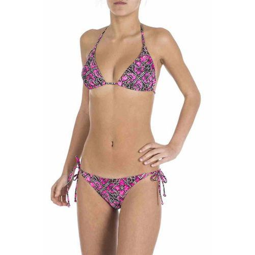 strój kąpielowy RIP CURL - Indica Tri Set Knockout Pink (9175) rozmiar: S, kolor różowy