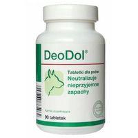 Dolfos deodol preparat dla psów neutralizacja nieprzyjemnych zapachów, 90tabl.