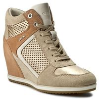 Sneakersy GEOX - D Illusion B D7254B 022BV CH6B5 Lt Taupe/Champagne