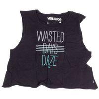 Podkoszulka - wasted daze croppe black (blk), Vans