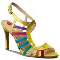 Sandały MACCIONI - 511 Żółty, kolor żółty