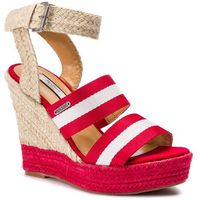 Espadryle - ohra tape pls90380 race red 261, Pepe jeans, 37-41