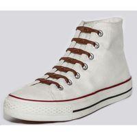 Shoeps silikonowe sznurowadła do butów brown (8717703450569)