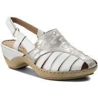 Sandały - 9-28207-20 white multi 103, Caprice, 38-39