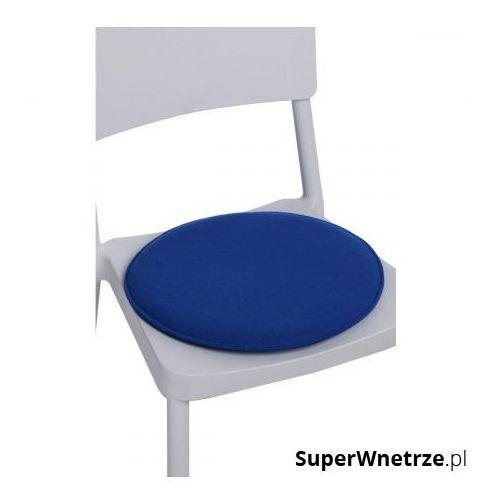 Gdzie kupić Poduszka na krzesło okrągła niebieska