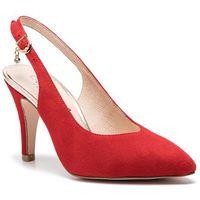 Caprice Sandały - 9-29602-22 red suede 524