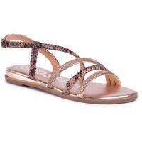 Sandały GIOSEPPO - Frisco 59822 Rose Gold, kolor różowy