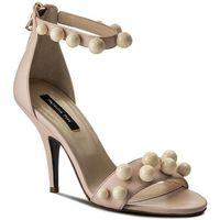 Sandały PATRIZIA PEPE - 2V7813/A3ZZ-W278 Shiny Cream, w 2 rozmiarach