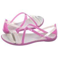 Sandały Crocs Isabella Strappy Sandal W Violet/Oyster 204915-5P7 (CR149-d), 204915-5P7