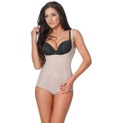 Linea Fashion Supreme Slim beige Body korygujące, kolor beżowy