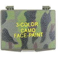 Mfh - max fusch Pasta do kamuflażu 3-kolorowa z lusterkiem mfh (4044633074324)