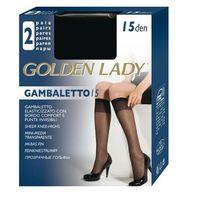 Podkolanówki Golden Lady Gambaletto  15 den A'2 uniwersalny, czarny/nero. Golden Lady, uniwersalny