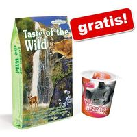 Taste of the wild 7 kg + przysmak odkłaczający smilla hearties gratis! - canyon river feline