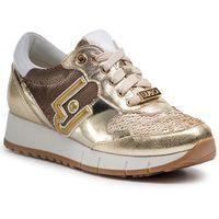 Sneakersy LIU JO - Gigi 02 B19019 EX006 Light Gold 04178, kolor zielony