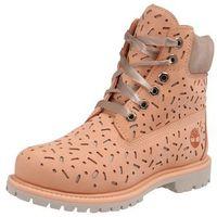 Timberland kozaki '6in premium boot w/perf' beżowy