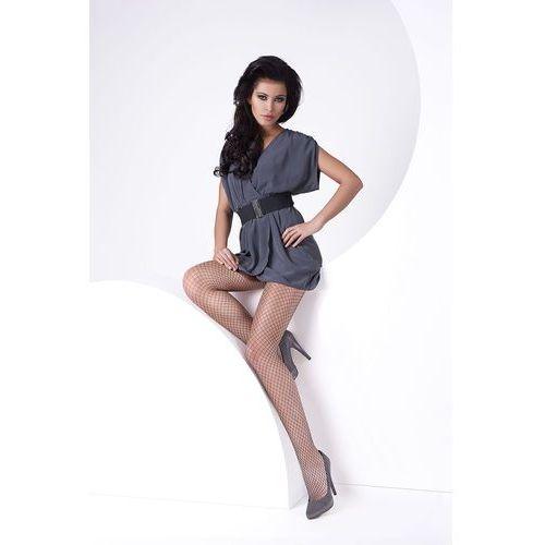 Rajstopy Mona Marella Kabaretki 1/2-XS/S, beż/natural, Mona, 5901282415009