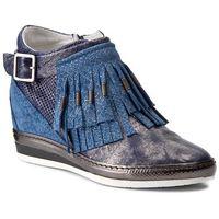 Sneakersy KHRIO - 171K7104PKNJLQ Blu/Blu, kolor niebieski