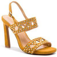 Sandały ALMA EN PENA - V19307 Suede Moustard, kolor żółty