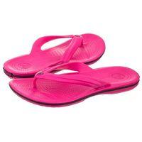 Japonki Crocs Crocband Flip Candy Pink 11033-6X0 (CR86-e), kolor różowy