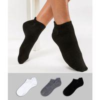Polo Ralph Lauren 3 Pack Ankle Socks - Multi