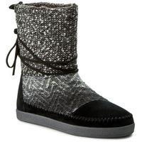 Buty TOMS - Nepal 10008964 Black Suede/Textile, w 4 rozmiarach