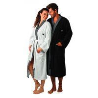 Egeria Szlafrok sauna - black & white kimono
