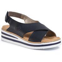 Sandały RIEKER - V0271-14 Blau, w 6 rozmiarach