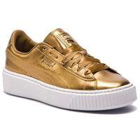 Sneakersy PUMA - Basket Platform Luxe Wn's 366687 02 Ermine/Ermine