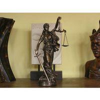 Piękna figurka temidy- symbol sprawiedliwości marki Veronese