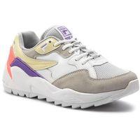 Sneakersy - vault cmr jogger cb low wmn 1010623.11y gray/violet/italian straw, Fila, 36-39
